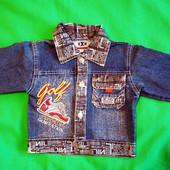 Джинсовая куртка (пиджак) для мальчика
