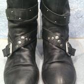 Продам кожаные демисезоннные сапоги 38 размер