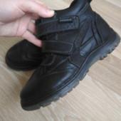 Ботинки кожаные 34р.
