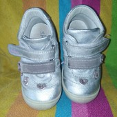 Фирменные кожаные деми ботинки Skofus Flexible в отличном состоянии!