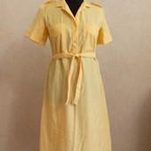 Яркое платье - сафари !!! р. 48 !!