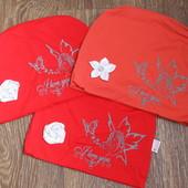 Демисезонные двойные шапки для девочек! Одна на выбор!