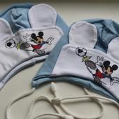 Демисезонные шапочки для малышей от 0 до 3 лет! Одна на выбор, смотрите все фото!