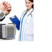 Тонометр автоматический цифровой, ЖК-экран с пульсометром!! С большой памятью давления!!!