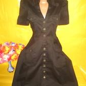 Очень красивое женское платье -халат Morgan (Морган) грудь 43-45 см 98% катон !!!!!!