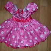 Платье фирменное с Минни на 1.5-2 года