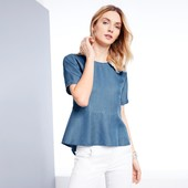 """Блуза из облегченного """"джинса"""" от Tchibo(Германия) 44евро"""