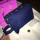 Большая вместительная сумка косметичка