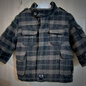 *59* Шерстяное пальто для малыша 6-12 мес.