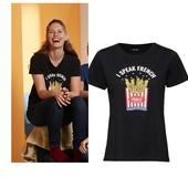 Классная футболка с паетками Esmara Германия размер евро L (44/46)