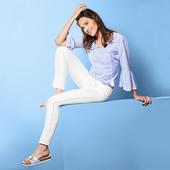 Красивые белые джинсы Tchibo Германия, размер 36евро (наш 42)