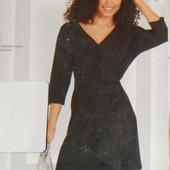 Элегантное женственное платье на запах, Esmara. Размер M, евро 40-42
