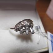 Шикарные серебряные кольца -серебро 925пр. Новое с биркой!