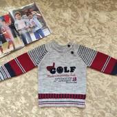 Качественный теплый свитер, пуловер для мальчика 2-4 лет в отличном состоянии!