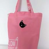 Котики! Красивая, вместительна практичная сумка!