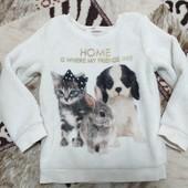 H&M Плюшевый свитерок на 2-4года