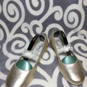 Модные, кожаные балетки Primigi для юных модниц р. 37. Рекомендую!