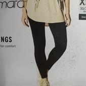 Женские хлопковые леггинсы Esmara Германия размер евро XS (32/34)