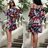 стильное платье свободного кроя
