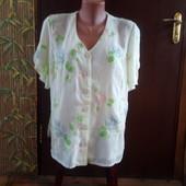Обалденный шифоновый костюм размер 52-54