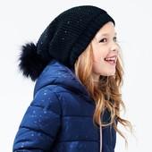 ☘ Модная вязаная шляпа с флисовой подкладкой от Tchibo(Германия), размер универсальный