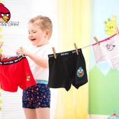 Хлопковые трусы боксеры 2в1 Angry Birds. Размер 158-164 на 13-14 лет