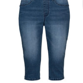 Жіночі джинсові капрі ТМ Esmara 56 розмір. Заміри в темі.