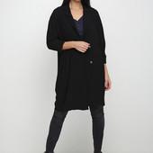 ☘ Черный демисезонный кардиган-пальто Steffen Schraut, размер М