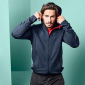 ☘ Функциональная спортивная куртка с капюшоном, Tchibo (Германия), размеры наши: 56-58 (XL евро)