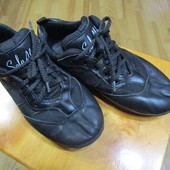 Профессиональные танцевальные туфли, джазовки, натуральная кожа, мягкие, невесомые, на стельку 21