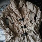 Куртка демисезонная бежевая s-m-l
