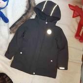 шикарная куртка парка для девочки 116. читаем описание.