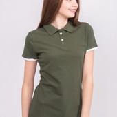 Отличная женская футболка поло Ocean. Размер M. Модель - фото 2!