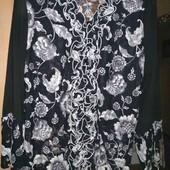 Нарядная блузка р. 58