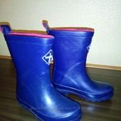 Резиновые сапоги Worf&York синего цвета р. 25, стелька15,5 см