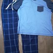 Мужская пижама для дома и сна Livergy размер XL 56 /58 , много лотов с мужским бельём)