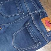 джинсы утепленные для девочки