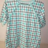 Рубашка, футболка на пуговицах, для кормления малыша, новая