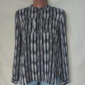 Лёгенькая фирменная свободная блузочка с карманчиками,xs/s/m