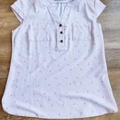 Блузка с коротким рукавом размер С