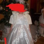 Состояние Новое!Шикарное нарядное платье для девочек!