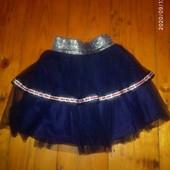 Стильна юбка Гуччи) 128-134 см