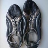 кожаные кроссовки Clark рр37-38, стелька 24 см