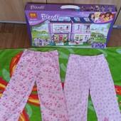 Двое красивых пижамных штанишек на красавицу 2-3 лет(на выбор!)