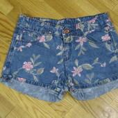 Бомбезные шорты Zara kids на 11-12 лет, состояние новых!