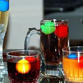 Многоразовый лёд для охлаждения напитков /форма-цветные кубики3 шт./