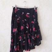 Просто шик)) юбка шифоновая с воланами в идеальном состоянии