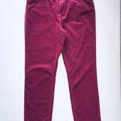 Очень красивые фирменные брюки из микровельвета. Размер 14