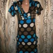 Женское теплое вязаное платье tenki