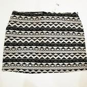 мини юбка на красивые формы . 18 размер